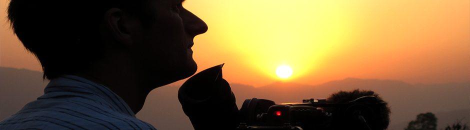 Filming in Nepal